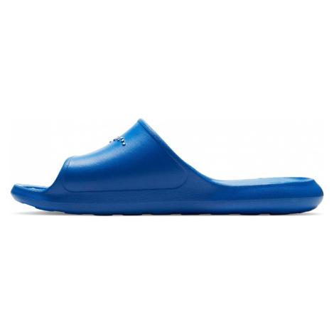 NIKE Plážové / kúpacie topánky  modrá / biela