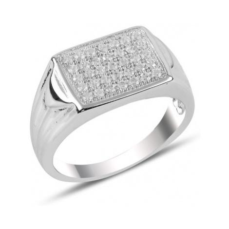 OLIVIE Pánsky strieborný prsteň 3731