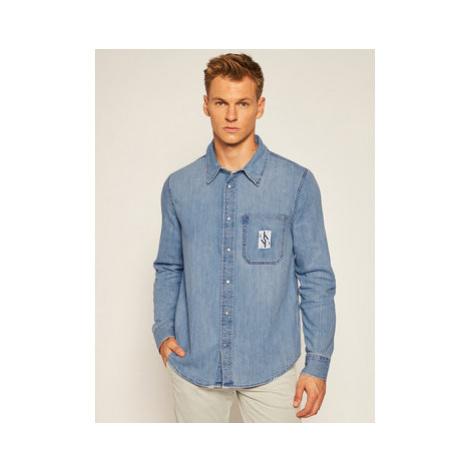 Calvin Klein Jeans Košeľa Europe J30J313977 Modrá Regular Fit