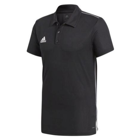 adidas CORE18 POLO čierna - Polo tričko