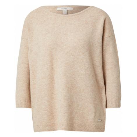 ESPRIT Sveter 'sweater'  béžová
