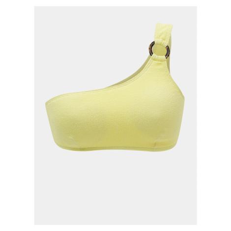 Žltý horný diel plaviek Pieces Nora