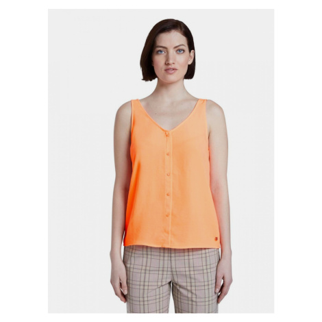 Tom Tailor Denim Orange Women's Top
