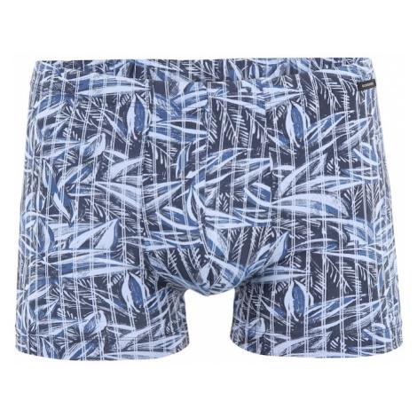 SCHIESSER Plavecké šortky  námornícka modrá / modrosivá / pastelovo modrá