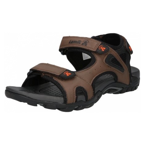 Kamik Trekingové sandále 'MILOS'  hnedá