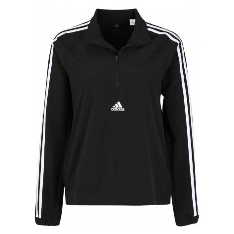 ADIDAS PERFORMANCE Športová bunda  čierna / biela