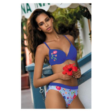 Dvoudílné plavky Feba F21B - barva:FEB460/jeans / potlač