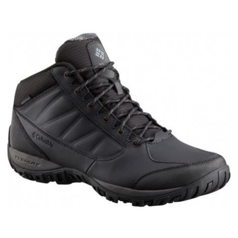 Columbia RUCKEL RIDGE CHUKKA OH WP čierna - Pánska outdoorová obuv