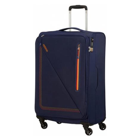 American Tourister Látkový cestovný kufor Lite Volt Spinner 70 l - SUNSET