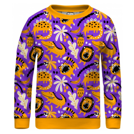 Mr. GUGU & Miss GO Unisex's Sweater KS-PC1598 Violet