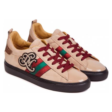 Tenisky La Martina Woman Shoes Paint - Suede Leather