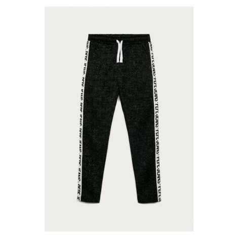 čierne dievčenské casual nohavice