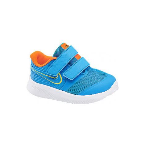 Modré detské tenisky na suchý zips Nike Star Runner 2