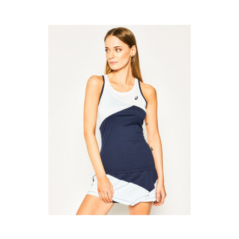 Asics Funkčné tričko Club W Tank 2042A101 Modrá Regular Fit