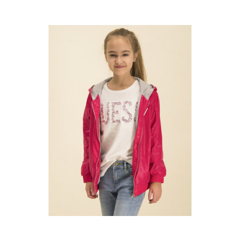Guess Prechodná bunda H01J08 WCMN0 Ružová Regular Fit