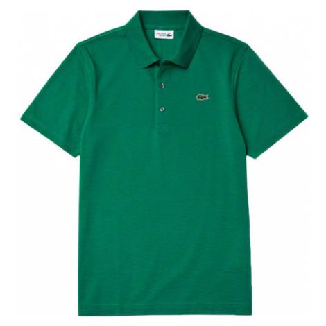 Lacoste MEN S/S POLO tmavo zelená - Pánske polo tričko