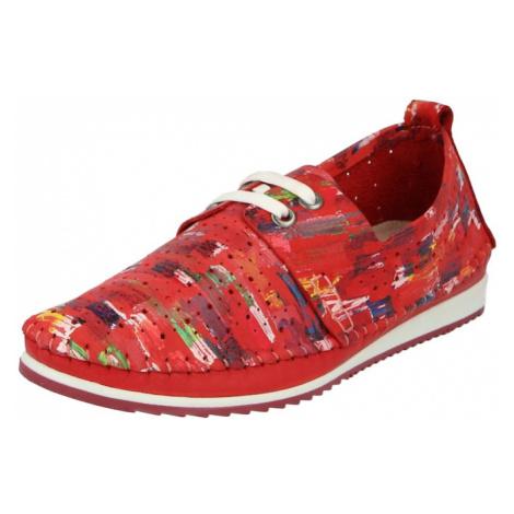 COSMOS COMFORT Šnurovacie topánky  červená / zmiešané farby
