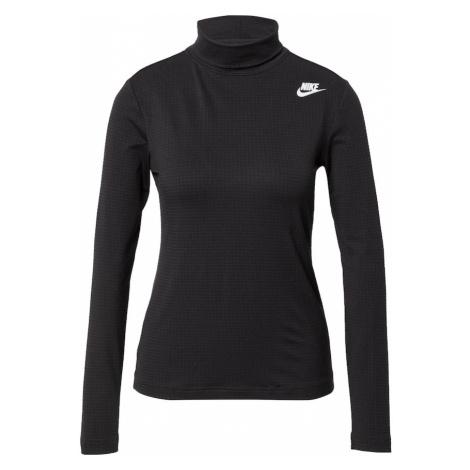 Nike Sportswear Tričko  biela / čierna