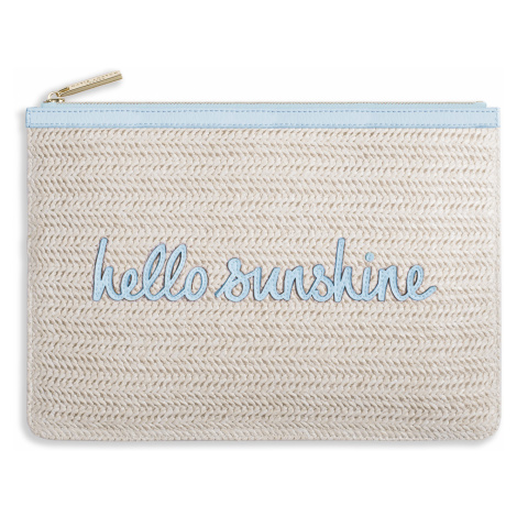 Slamená listová kabelka – Coco Clutch – Hello Sunshine KATIE LOXTON