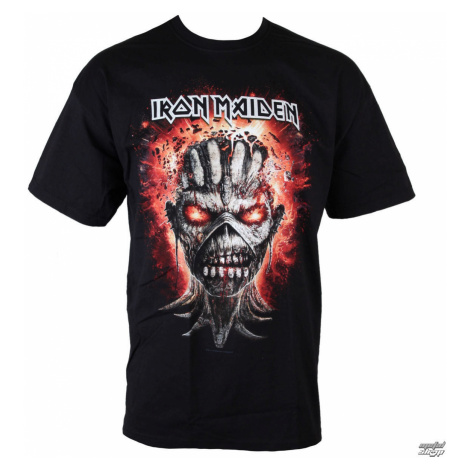 Tričko metal ROCK OFF Iron Maiden Čierna