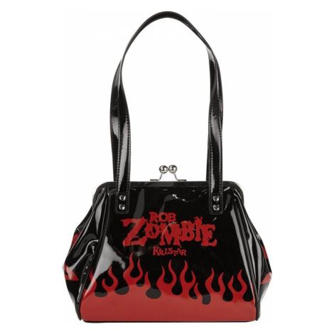 kabelka (taška) KILLSTAR - Rob Zombie - Hot Hell - BLACK - KSRA000703