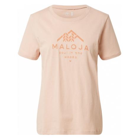 Maloja Funkčné tričko 'Platane'  ružová