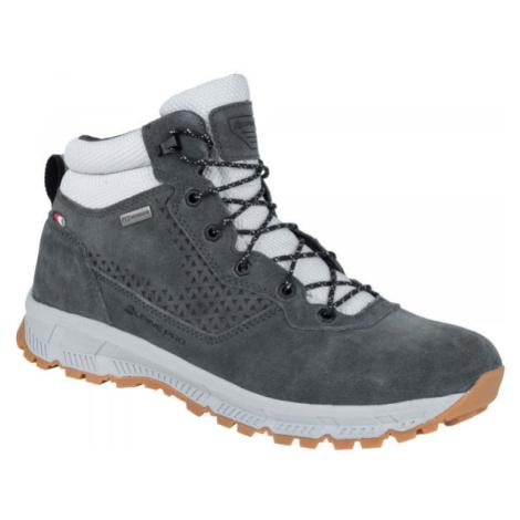 ALPINE PRO AGIM sivá - Pánska mestská obuv