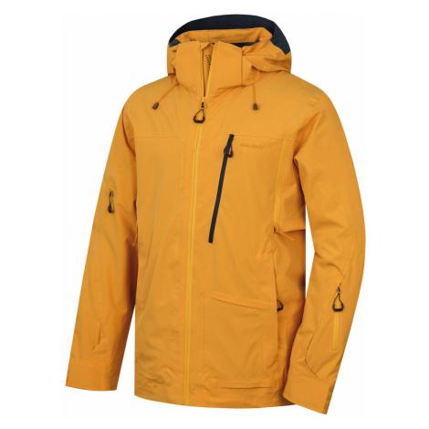 Husky MONTRE pánska lyžiarska bunda krémovo žltá