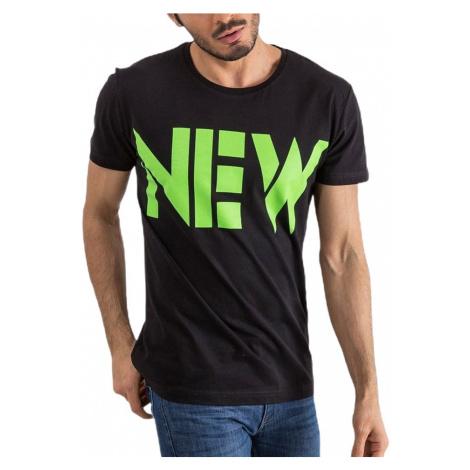 čierne pánske tričko new MECHANICH