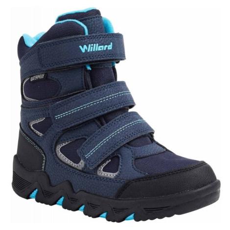 Willard CANADA HIGH modrá - Detská zimná obuv