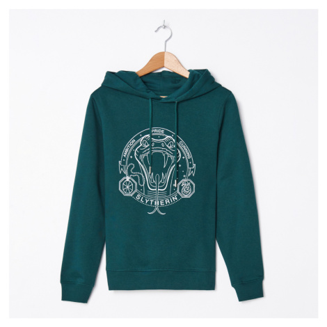 House - Mikina s kapucňou s potlačou Harry Potter - Khaki
