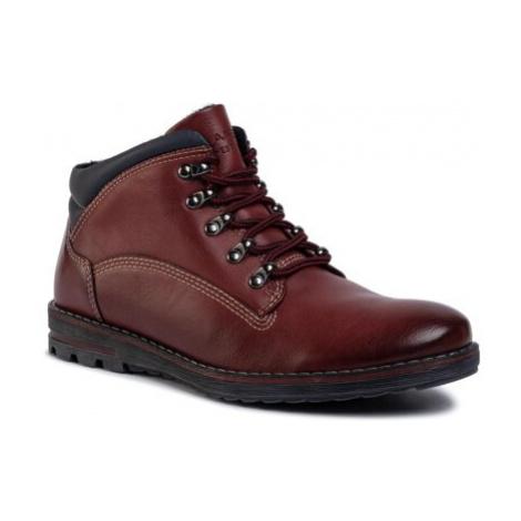 Šnurovacia obuv Lanetti MBS-CORTINA-01 Imitácia kože/-Imitácia kože