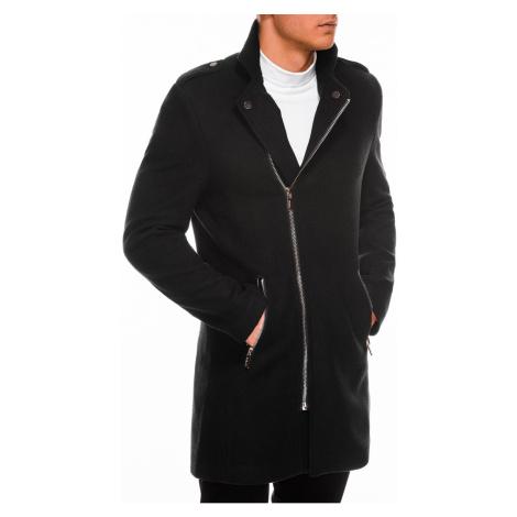 Pánsky kabát Ombre C433