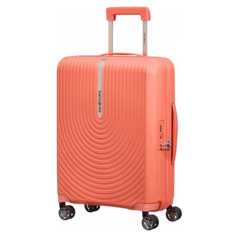 Samsonite Kabínový cestovný kufor Hi-Fi Spinner EXP 39/45 l - korálová