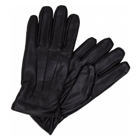 JACK & JONES Prstové rukavice  čierna