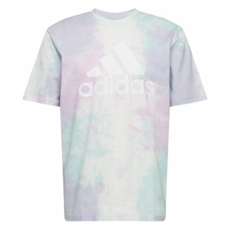 ADIDAS PERFORMANCE Funkčné tričko  tyrkysová / biela / ružová / mätová