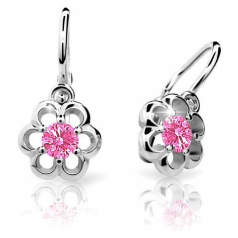 Cutie Jewellery Detské náušnice C1947-10-X-2 růžová