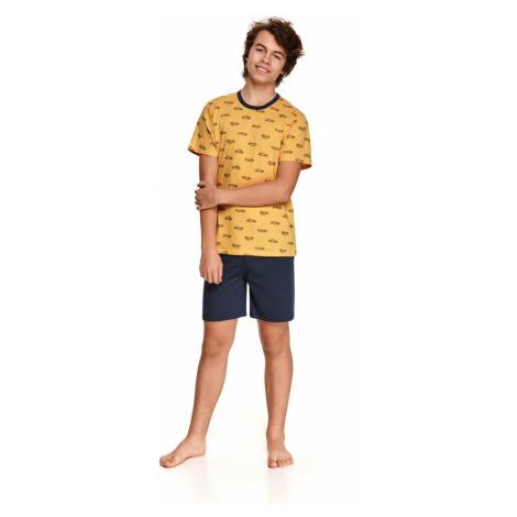 Chlapčenské pyžamo 344 Max yellow Taro