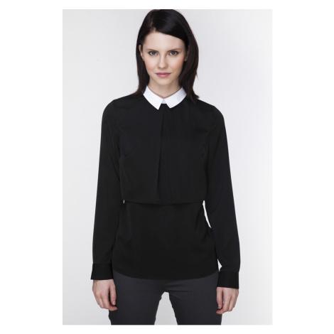 Čierna košeľa ABK0059 Ambigante