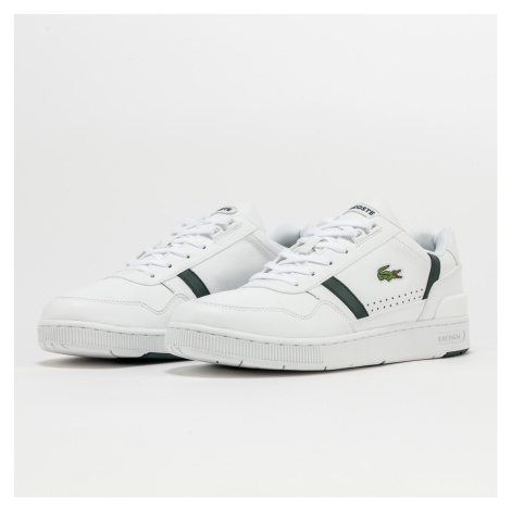 LACOSTE T-Clip Leather white / dk green