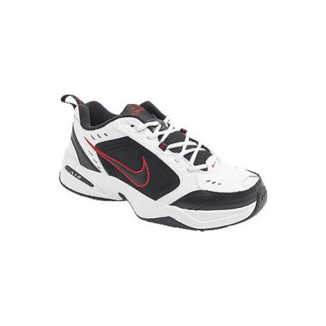 Bielo-čierne tenisky Nike Air Monarch