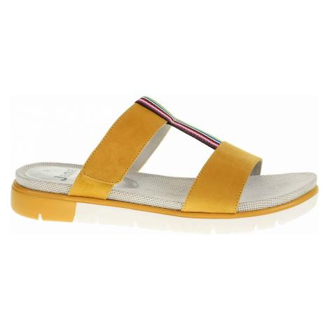 Dámské pantofle Jana 8-27100-24 saffron 8-8-27100-24 627