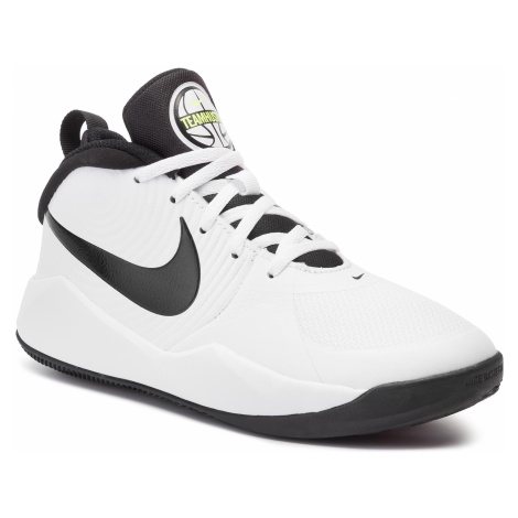 Topánky NIKE - Team Hustle D 9 (Gs) AQ4224 100 White/Black-Volt