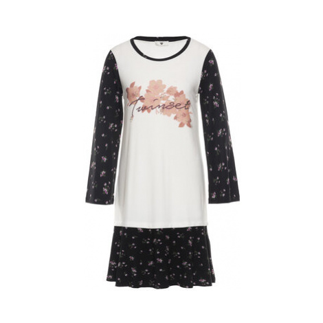 TWINSET Nočná košeľa 192LL2KLL Biela
