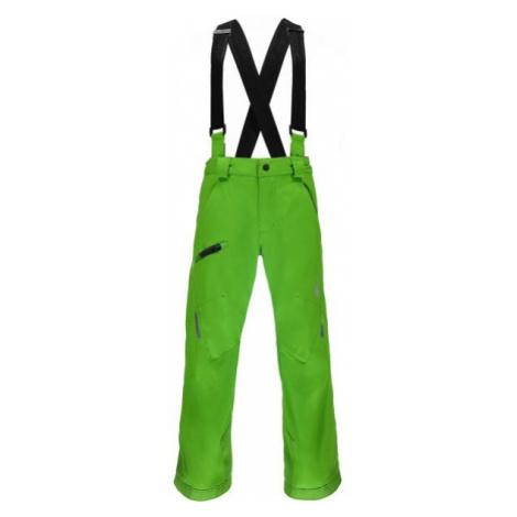 Spyder PROPULSION B zelená - Chlapčenské lyžiarske nohavice