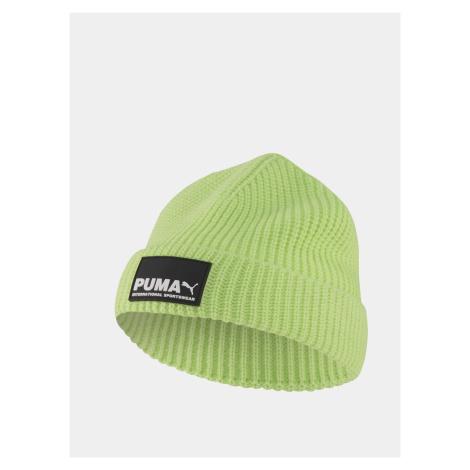 Zelená pánska čiapka Puma