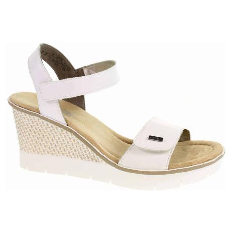 Dámské sandály Rieker 68554-80 weiss 68554-80