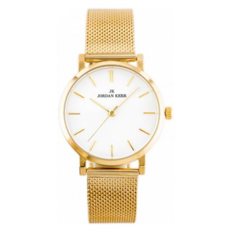 Dámske hodinky zlatej farby Jordan Kerr P127W-B