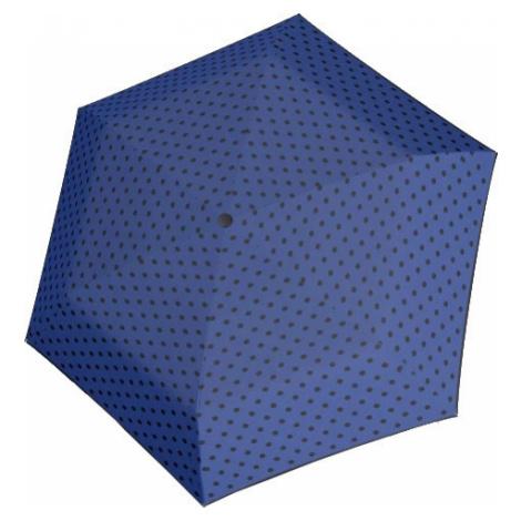 Doppler Dámsky skladací mechanický dáždnik Hit Mini Flat Dots 722565PD03