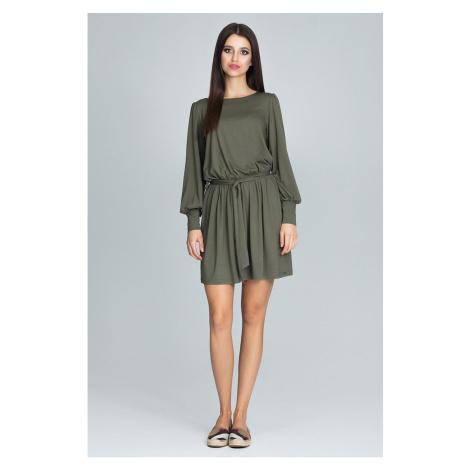 Figl Woman's Dress M576 Olive